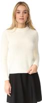 Theory Boska Nubby Cropped Sweater