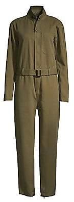 Polo Ralph Lauren Women's Belted Khaki Jumpsuit - Size 0