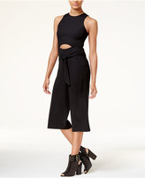 Material Girl Juniors' Cutout Gaucho Jumpsuit, Created for Macy's
