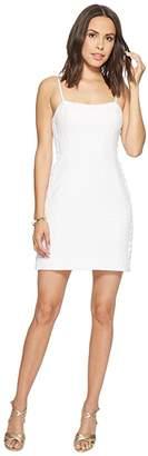 Lilly Pulitzer Shelli Stretch Shift (Resort White Pineapple Jacquard) Women's Dress