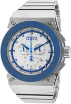 Invicta Mens Round Silver Bracelet Watch 11593
