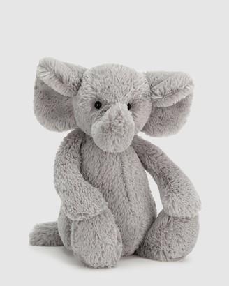 Jellycat Grey Animals Bashful Elephant Medium - Size One Size at The Iconic