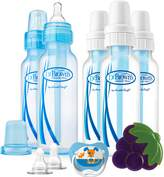 Dr Browns Dr. Brown's Dr Brown's 8-Ouncez Standard 5-pack Bottles Boy Gift Set with Pacifier/Teether/Nipples