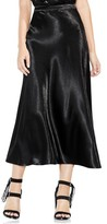 Vince Camuto Women's Hammered Satin Maxi Skirt