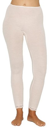 Hanro Woolen Lace Ribbed Lounge Leggings