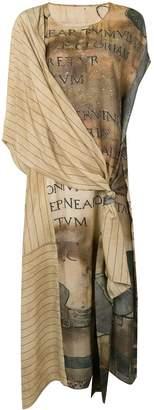 UMA WANG Draped Panelled Dress