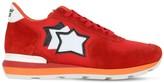 Antares Suede & Nylon Sneakers