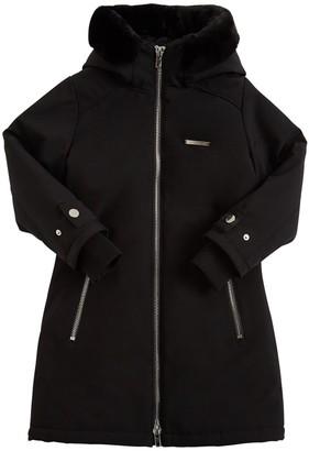 Givenchy Water Resistant Nylon Parka Jacket