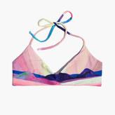 Madewell Mara Hoffman® Basketweave Bikini Top in Landscape
