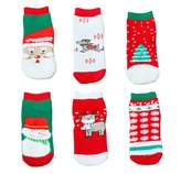 Happy Cherry Unisex Baby Warm Socks Kids Gifts 6 Pack 3-5 Years Old, Random Color