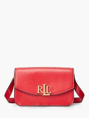 Ralph Lauren Ralph Elmswood Madison 18 Leather Cross Body Bag, Red