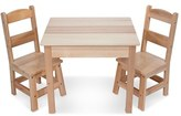 Melissa & Doug Toddler Wooden Table And Chairs Set