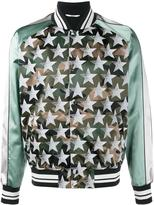 Valentino Camustars bomber jacket - men - Cotton/Polyamide/Polyester/Viscose - 50