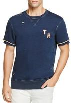 True Religion Double Layer Distressed Sweatshirt