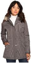 Lauren Ralph Lauren Faux Fur Trim Anorak Women's Coat