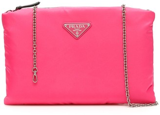 Prada Medium Padded Clutch Bag
