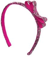 Crazy 8 Sparkle Bow Headband