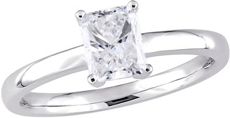 Affinity Diamond Jewelry Affinity 14K Gold 1.0 cttw Radiant-Cut DiamondSolitaire Ring