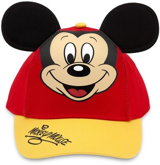Disney Mickey Mouse Baseball Cap for Kids Red/Gold