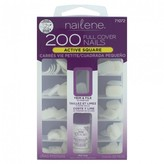 Nailene 200 Count Full Cover Nails 1 Kit