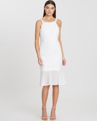Chancery Mica Lace Midi Dress
