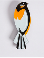 M&S Collection Resin Bird Brooch