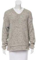 Nili Lotan Oversize Mélange Sweater