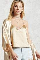 Forever 21 FOREVER 21+ Contemporary Satin Cami