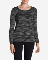 Eddie Bauer Women's Sweatshirt Sweater - Space Dye