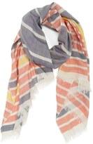 Barbour Women's Sealand Stripe Silk & Cotton Scarf