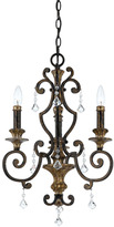 Quoizel Marquette Mini Chandelier with 3 Lights