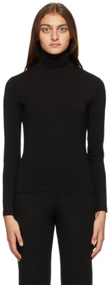 MAX MARA LEISURE Black Fresis Turtleneck