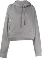Maison Margiela side zipper hoodie
