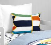 Pottery Barn Kids Multi Color Block Decorative Pillow