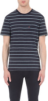 Levi's Sunset pocket stripe-print cotton-jersey t-shirt