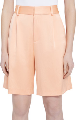 Alice + Olivia Eric High Waisted Bermuda Shorts