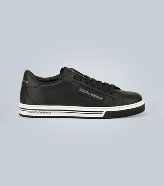 Dolce & Gabbana Roma leather sneakers