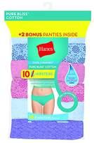 Hanes Women's 8-Pack Pure Bliss Hipster (Bonus +2)