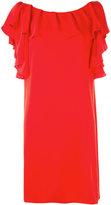 P.A.R.O.S.H. ruffled shift dress - women - Polyester - XS