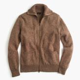 J.Crew Lambswool full-zip sweater