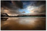"Trademark Fine Art Philippe Sainte-Laudy 'Ramberg Beach' Canvas Art, 16""x24"""