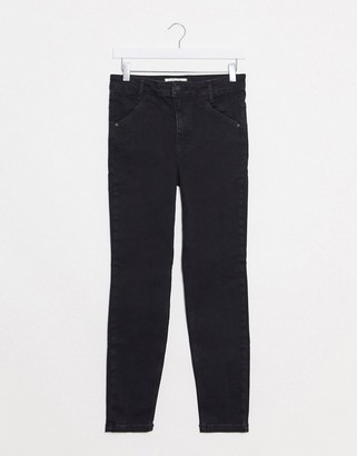 Free People riley seamed skinny jean in back