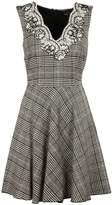 Ermanno Scervino Plaid Print Dress