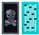 Betsey Johnson Skull Party Beach Towel Set