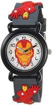 Marvel Boy's 'Avenger' Quartz Plastic Casual Watch