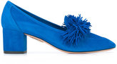 Aquazzura 'Wild' loafer pumps - women - Leather/Suede - 35.5
