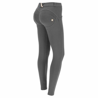 Freddy WR.UP Skinny-fit Stretch Cotton Trousers - Black - Small
