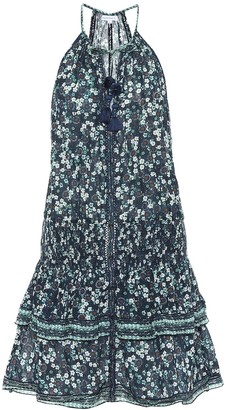 Poupette St Barth Kimi floral cotton minidress