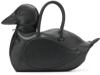 Thom Browne Duck Icon Tote Bag
