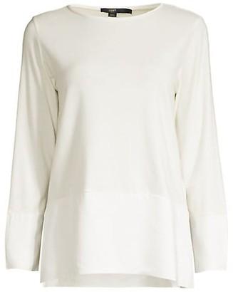 Seventy Jersey-Knit Contrast-Trim Top